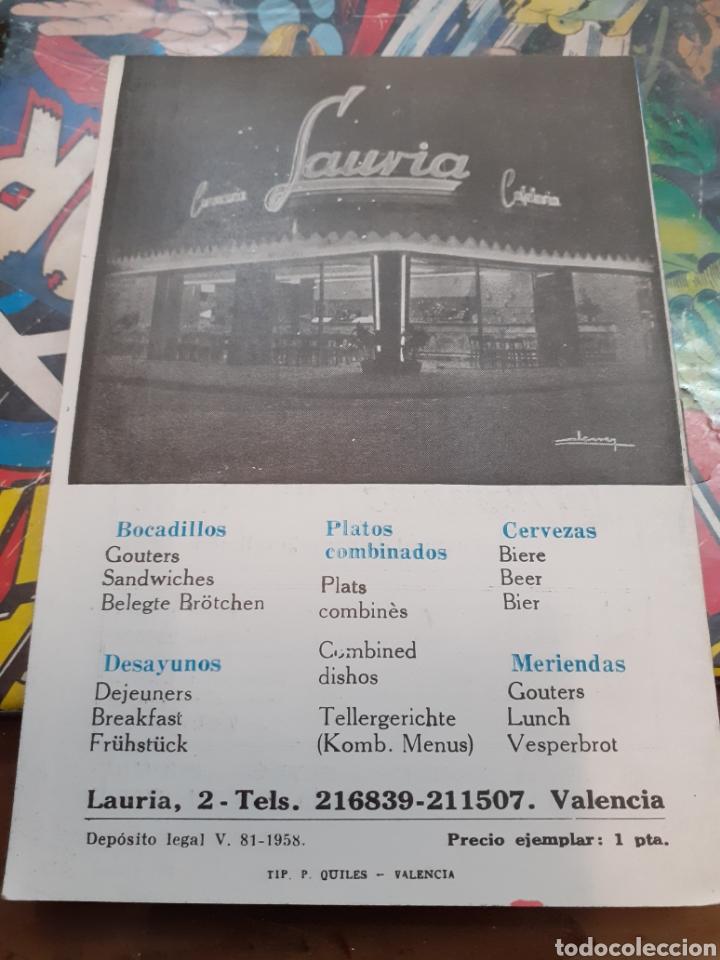 Cine: Cartelera bayarri. Portada sara montiel. N°116. 1959 - Foto 2 - 192974571