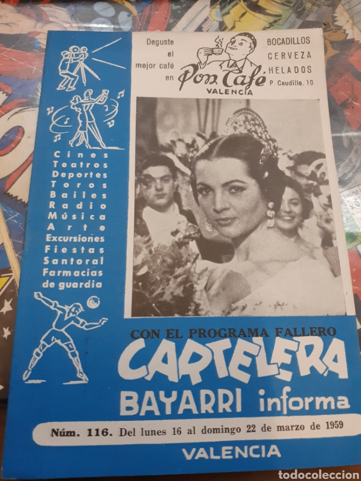 CARTELERA BAYARRI. PORTADA SARA MONTIEL. N°116. 1959 (Cine - Revistas - Otros)