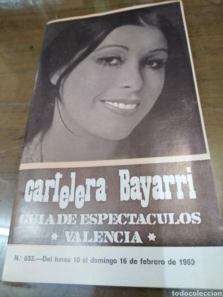 CARTELERA BAYARRI, PORTADA DE MASSIEL, N-633,AÑO 1969 (Cine - Revistas - Otros)