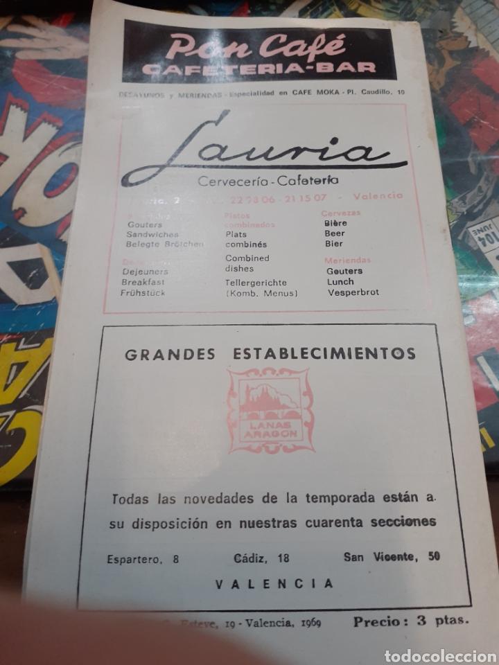 Cine: Cartelera bayarri. Portada john Lennon. N°644. 1969. The beatles. - Foto 2 - 192975007