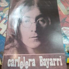 Cine: CARTELERA BAYARRI. PORTADA JOHN LENNON. N°644. 1969. THE BEATLES.. Lote 192975007