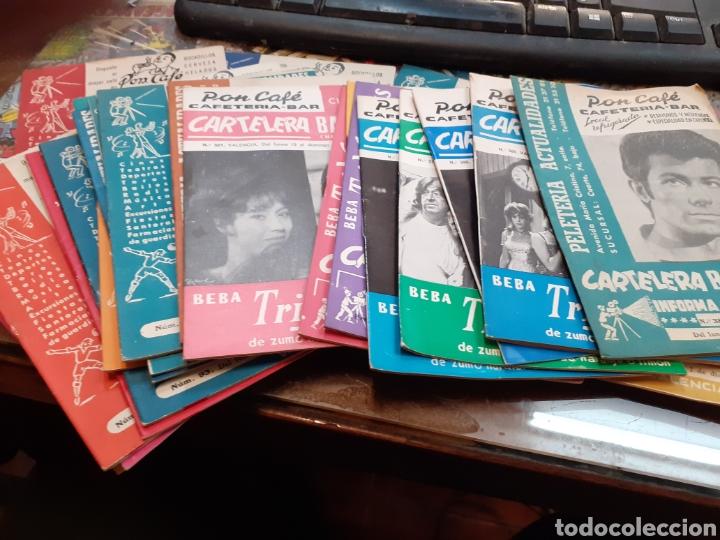 Cine: Lote de 53 carteleras bayarri diferentes del año 1957 al año 1968 - Foto 2 - 192976866