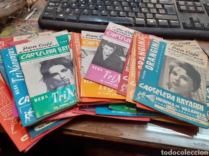 Cine: Lote de 53 carteleras bayarri diferentes del año 1957 al año 1968 - Foto 3 - 192976866