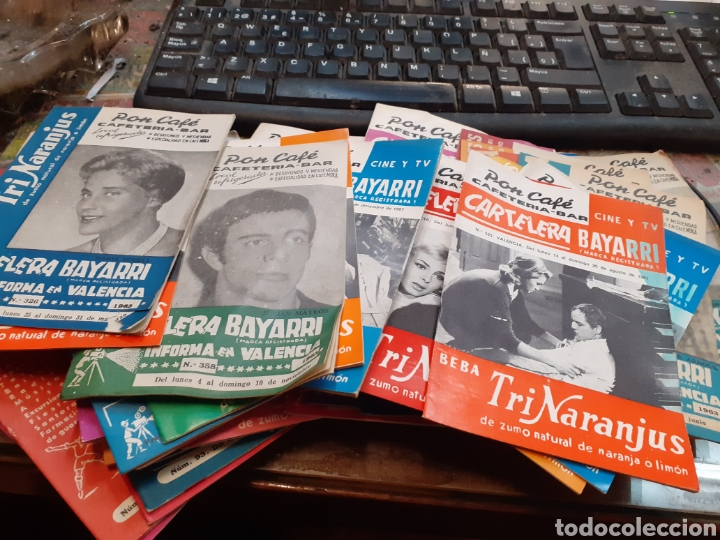Cine: Lote de 53 carteleras bayarri diferentes del año 1957 al año 1968 - Foto 4 - 192976866