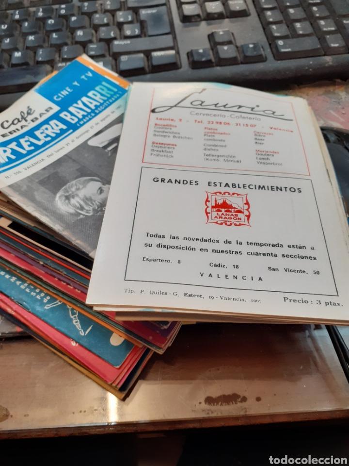 Cine: Lote de 53 carteleras bayarri diferentes del año 1957 al año 1968 - Foto 6 - 192976866