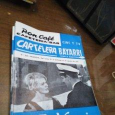 Cine: CARTELERA BAYARRI, PORTADA DE JEAN SEBERG Y SEAN GARRISON, N-556,AÑO 1967. Lote 192981537
