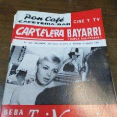 Cine: CARTELERA BAYARRI, PORTADA DE MICHELE MERCIER, N-553,AÑO 1967. Lote 192981585