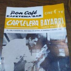 Cine: CARTELERA BAYARRI, PORTADA DE ROBERT STACK Y HEIDE BOHLEN, N-570,AÑO 1967. Lote 192982120