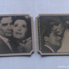 Cine: DOS POSAVASOS DE PELICULA. Lote 193009618