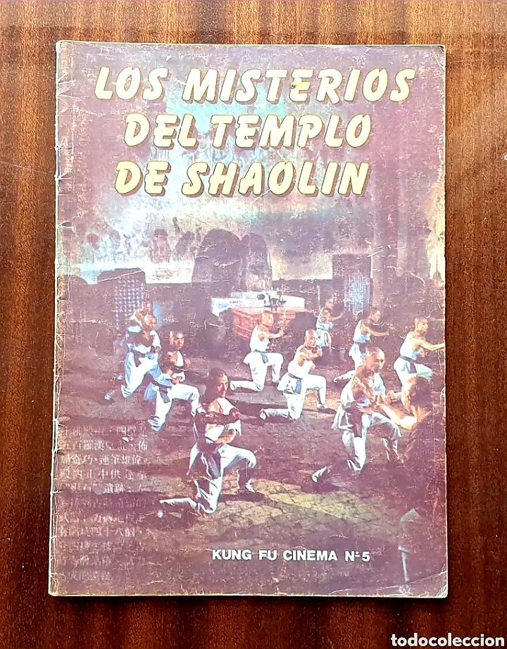 REVISTA KUNG FU CINEMA N°5 LOS MISTERIOS DEL TEMPLO DE SHAOLIN (Cine - Revistas - Otros)
