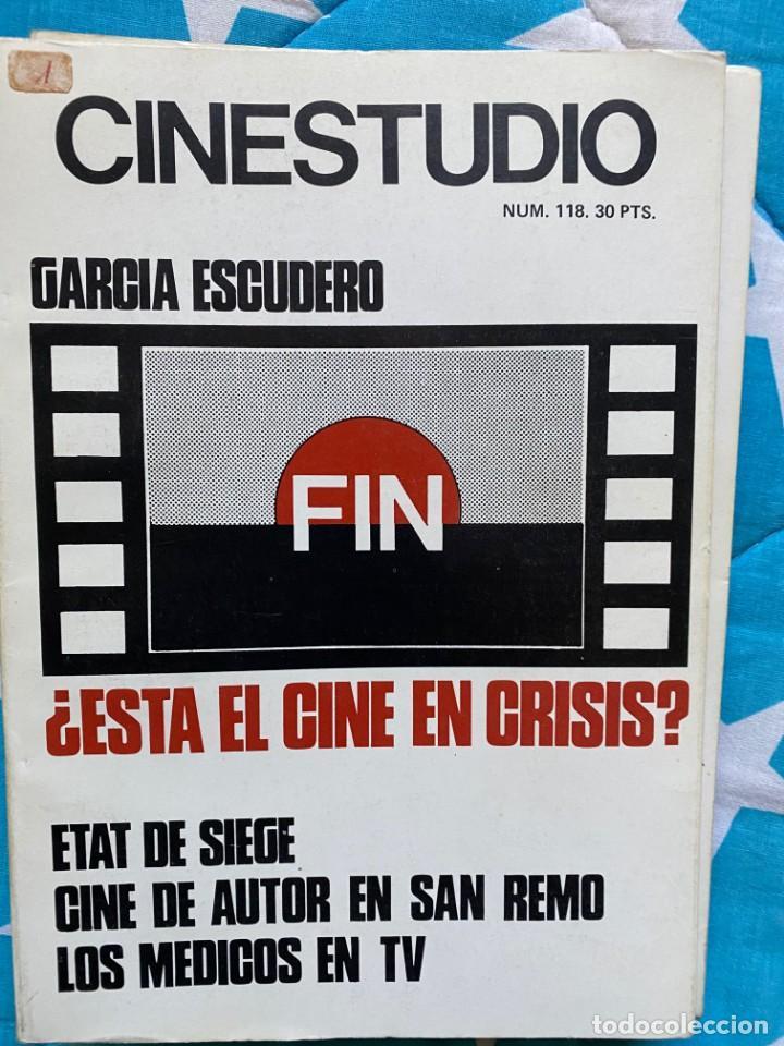 REVISTA CINESTUDIO (Cine - Revistas - Otros)