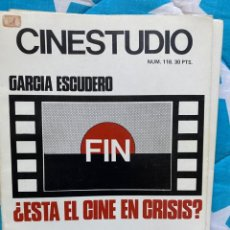 Cine: REVISTA CINESTUDIO. Lote 193306540