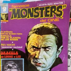 Cinéma: REVISTA FAMOSOS MONSTRUOS DE CINE. Lote 193309138