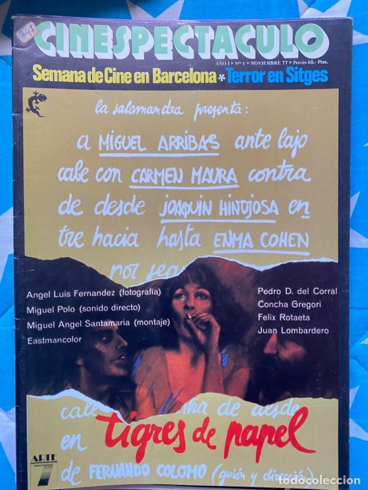 REVISTA DE CINE CINESPECTACULO (Cine - Revistas - Otros)