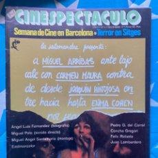 Cine: REVISTA DE CINE CINESPECTACULO. Lote 193310517