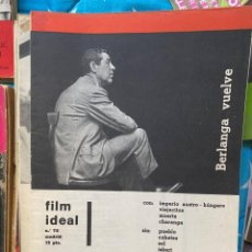 Cine: REVISTA DE CINE FILM IDEAL. Lote 193314720