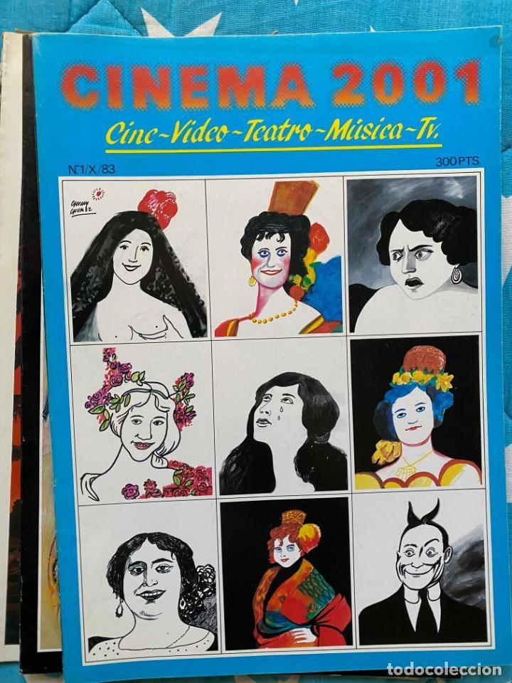 REVISTA DE CINE CINEMA 2001 (Cine - Revistas - Otros)
