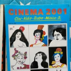 Cine: REVISTA DE CINE CINEMA 2001. Lote 193316215