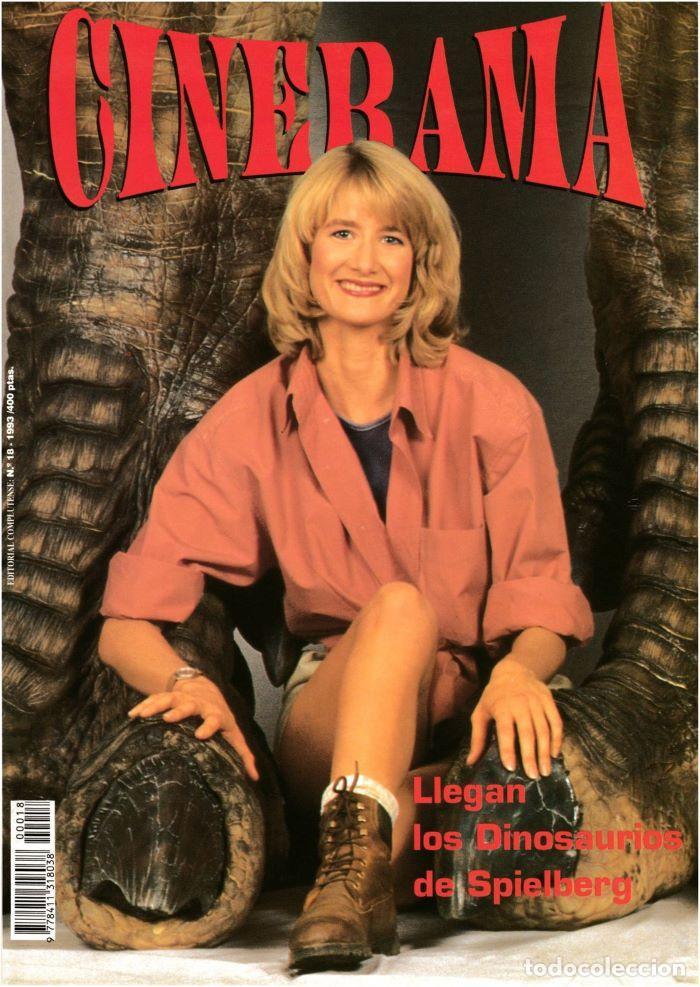 REVISTA - CINERAMA - Nº 18 - OCT. 1993 (PARQUE JURÁSICO / KIKA / MARLON BRANDO / FREDDY KRUEGER) (Cine - Revistas - Cinerama)