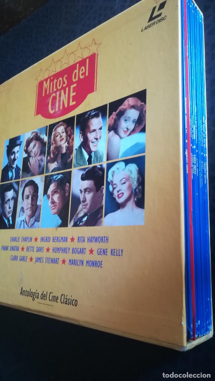 Cine: Caja Lote 10 Láser Disc Mitos del cine. El Golpe, Mogambo, Casablanca, Gilda - Foto 3 - 193377830