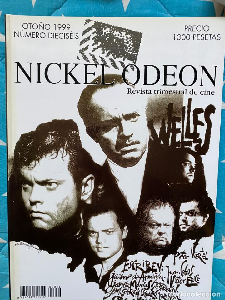 Cine: REVISTA DE CINE NICKEL ODEON Nº 16 ORSON WELLES - Foto 1 - 193381332