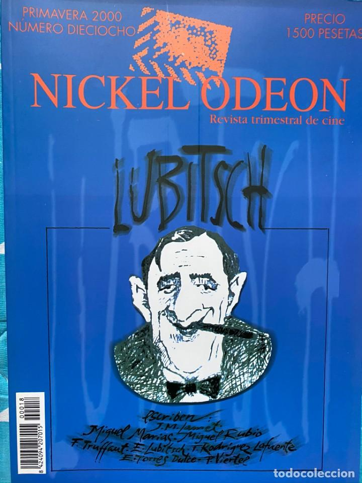 Cine: REVISTA DE CINE NICKEL ODEON Nº 18 LUBITSCH - Foto 1 - 193381747