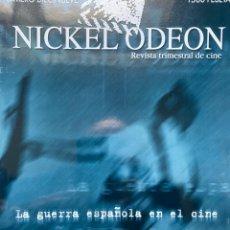 Cine: REVISTA DE CINE NICKEL ODEON Nº 19 LA GUERRA DE ESPAÑA EN EL CINE. Lote 193381847
