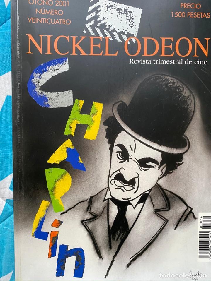REVISTA DE CINE NICKEL ODEON Nº 24 CHAPLIN (Cine - Revistas - Otros)