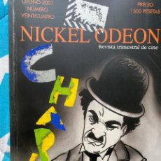 Cine: REVISTA DE CINE NICKEL ODEON Nº 24 CHAPLIN. Lote 193382330