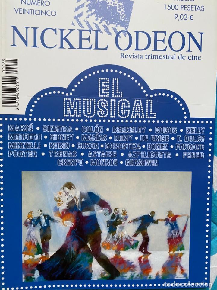REVISTA DE CINE NICKEL ODEON Nº 25 EL MUSICAL (Cine - Revistas - Otros)