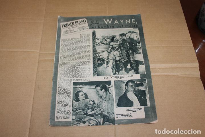 PRIMER PLANO Nº 400, CON JOHN WAYNE (Cine - Revistas - Primer plano)