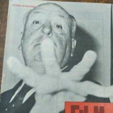 Cine: FILM IDEAL Nº 62 DE 1960- ALFRED HITCHCOCK- ALBERTO CAVALCANTI- CLARK GABLE- JORGE FELIU- HIROSHIMA.. Lote 193410892