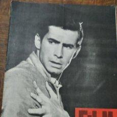 Cine: FILM IDEAL Nº 67 DE 1961- PSICOSIS- EL DOCUMENTAL- EL HOMBRE DE LAS PISTOLAS DE ORO- LOS SIETE MAGNI. Lote 193411546