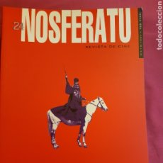 Cine: NOSFERATU Nº 20. THEO ANGELOPOULOS. Lote 193444505