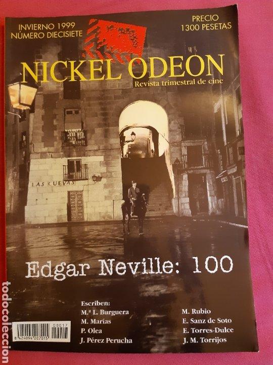 NICKEL ODEON Nº17 (Cine - Revistas - Nickel Odeon)