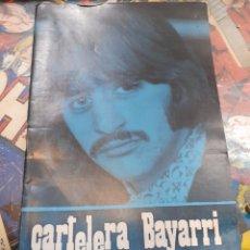 Cine: CARTELERA BAYARRI. PORTADA RINGO STARR. N°648. 1969. THE BEATLES.. Lote 193553593