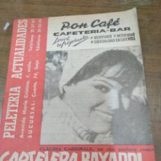 Cine: CARTELERA BAYARRI, PORTADA DE CLAUDIA CARDINALE, N-379,AÑO 1964. Lote 193555778