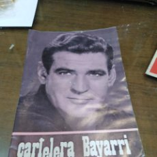 Cine: CARTELERA BAYARRI, PORTADA DE ROD TAYLOR, N-630,AÑO 1969. Lote 193556418