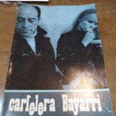 Cine: CARTELERA BAYARRI, PORTADA DE GERALDINE CHAPLIN, J. L. LÓPEZ VÁZQUEZ, N-590,AÑO 1968. Lote 193556622