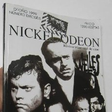 Cine: NICKEL ODEON 16. OTOÑO 1999. ORSON WELLES. Lote 193575096