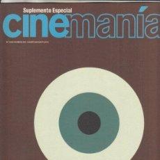 Cine: SUPLEMENTO REVISTA CINEMANIA Nº 74 AÑO 2001. FESTIVAL INTERNACIONAL DE CINE DE GIJON. . Lote 193576160