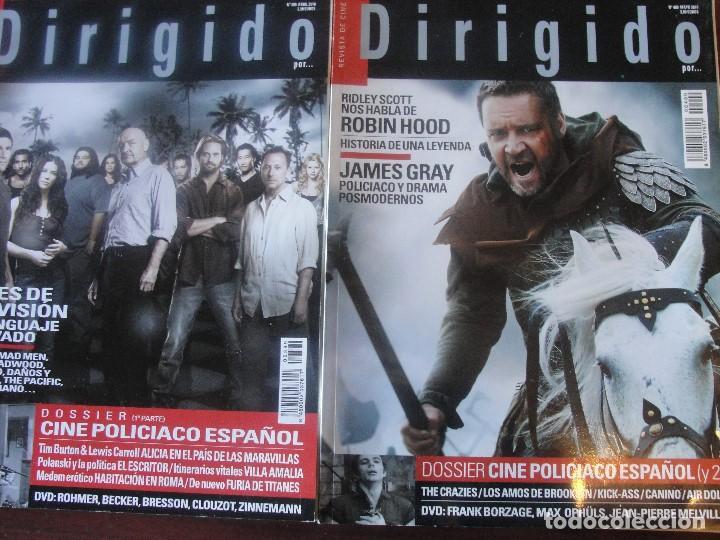 DIRIGIDO DOSSIER CINE POLICIACO ESPAÑOL / 1 Y 2 PARTE - PERDIDOS / LOST - ENVIO GRATIS (Cine - Revistas - Dirigido por)