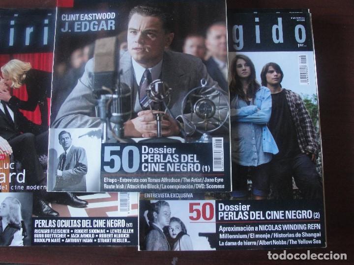 DOSSIER 50 PERLAS OCULTAS DEL CINE NEGRO / 103 PAGINAS MUY ILUSTRADO - ENVIO GRATIS - AÑO 2012 (Cine - Revistas - Dirigido por)