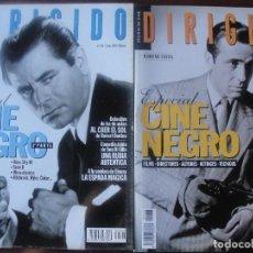 Cine: DOSSIER DIRIGIDO CINE NEGRO / 85 PAGINAS MUY ILUSTRADAS - AÑO 1998 - ENVIO GRATIS. Lote 193613791