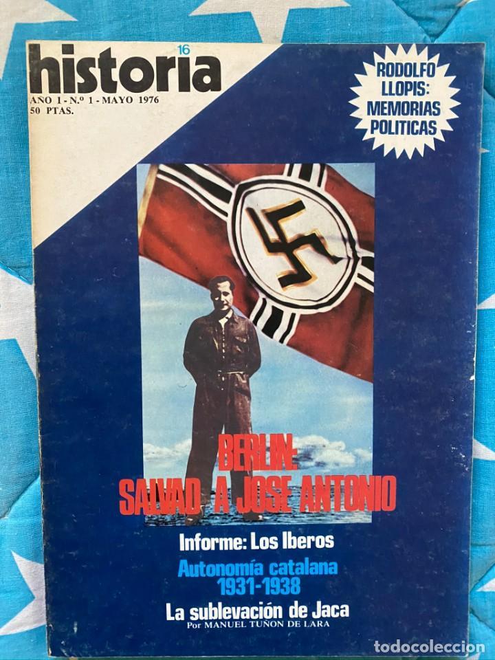 REVISTA HISTORIA 16 (207 NÚMEROS) (Cine - Revistas - Otros)