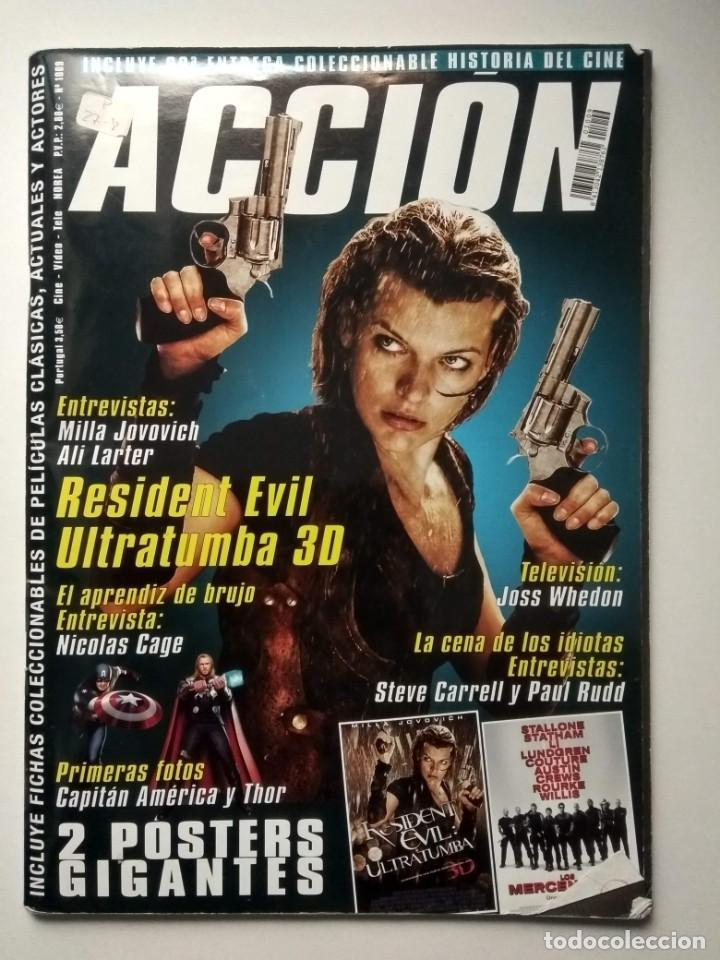 REVISTA ACCIÓN Nº 1009 INCLUYE POSTER (Cine - Revistas - Acción)
