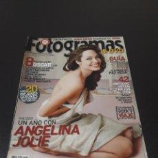 Cine: FOTOGRAMAS N° 1.960. FEBRERO 2007. ANGELINA JOLIE.. Lote 193885071