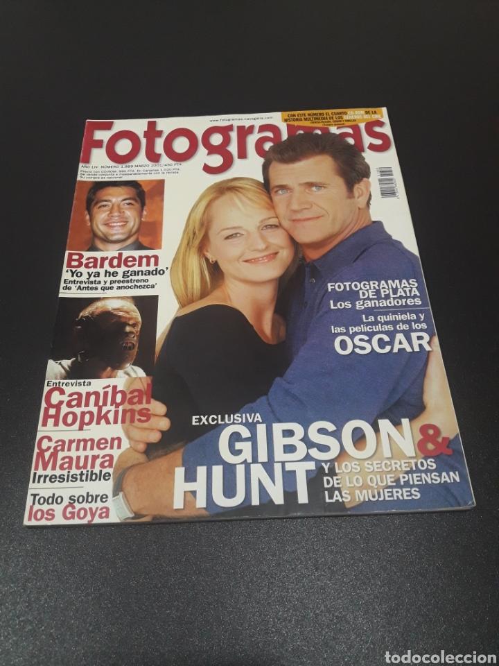 FOTOGRAMAS N° 1.889. MARZO 2001. MEL GIBSON Y HELEN HUNT. (Cine - Revistas - Fotogramas)