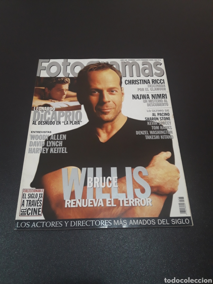 FOTOGRAMAS N° 1.876. FEBRERO 2000. BRUCE WILLIS. (Cine - Revistas - Fotogramas)