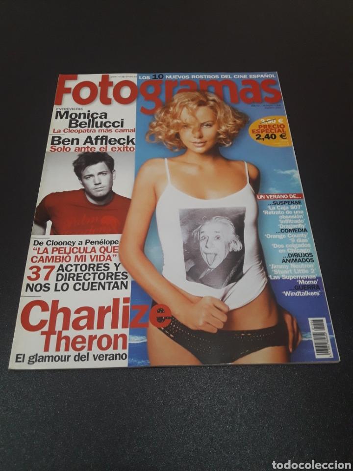 FOTOGRAMAS N° 1.906. AGOSTO 2002. CHARLIZE THERON. (Cine - Revistas - Fotogramas)